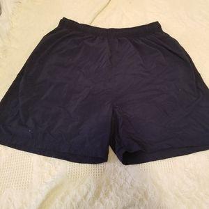 Croft and Borrow Sport Swim Trunks Navy Blue